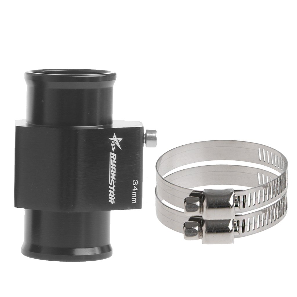 38mm Kangnice Water Temp Temperature Joint Pipe Sensor Gauge Radiator Hose Adapter