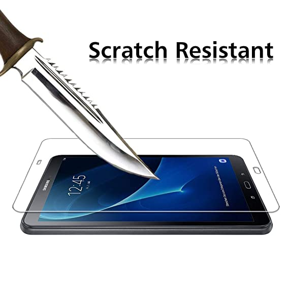 Resistente a los ara/ñazos Cristal Templado Protector de Pantalla SM-T550//T555 2 Piezas MadeRy Protector de Pantalla para Samsung Galaxy Tab A 9.7 Pulgada