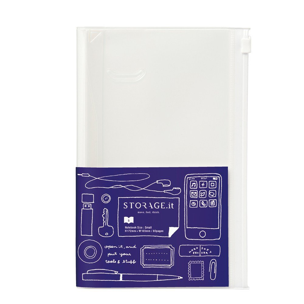 Amazon.com : MARKSTYLE TOKYO STORAGE.it Notebook/White ...
