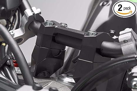 Bay4Global Motorcycle Handlebar Risers for Kawasaki Z750S Black