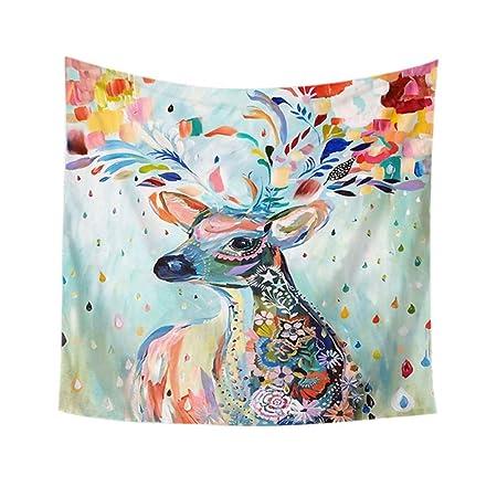 shenyueshitu Manta de Playa Tapestry Wall Hanging Yoga Mat ...