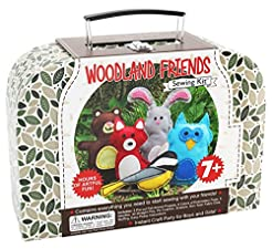 CraftLab Sewing Kits Woodland Animals Cr...
