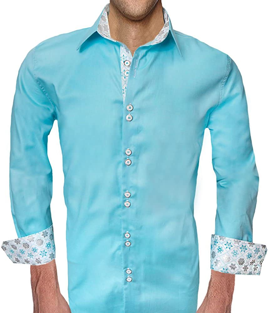 Mens Winter Accent Dress Shirts Made in the USA