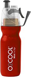 O2 Cool Mist 'N Sip Drinking and Misting Bottle ArcticSqueeze Classic - 20oz,