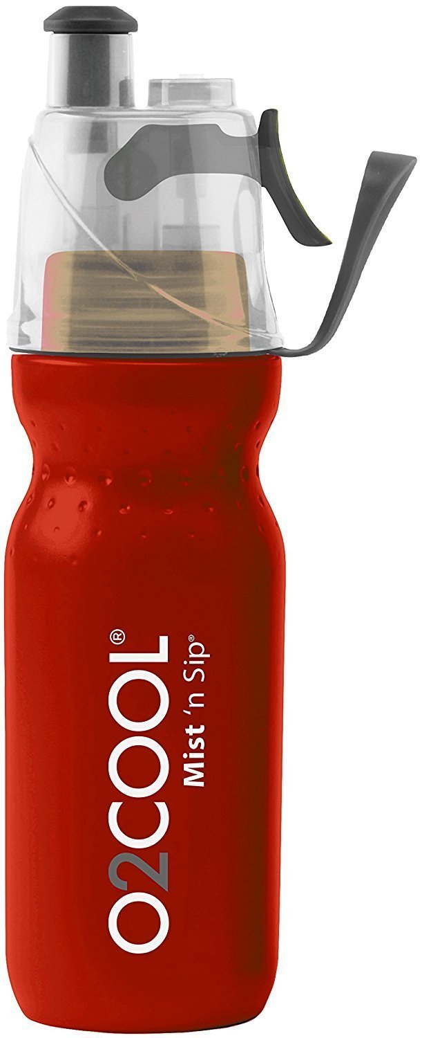 O2 Cool Mist N Sip Drinking and Misting Bottle ArcticSqueeze Classic 20oz,