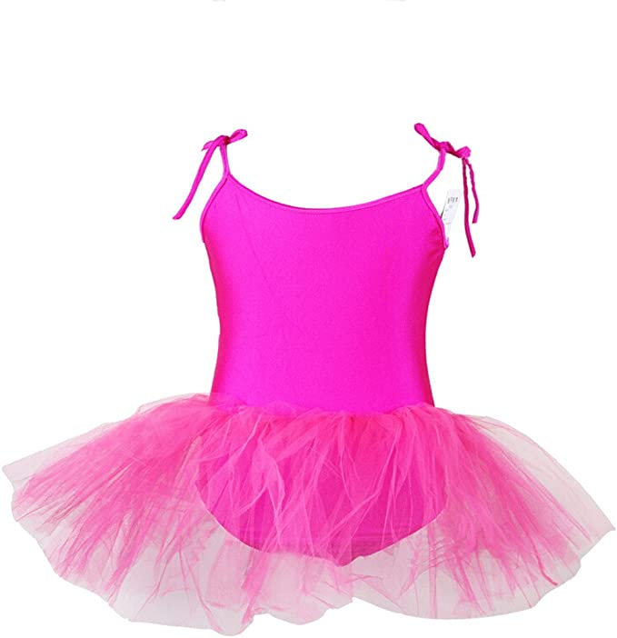BUENOS NINOS Girls 3 Layers Tulle Dress Up Tutu Princess Ballet Dance Party Skirt with Lining for 2-9T