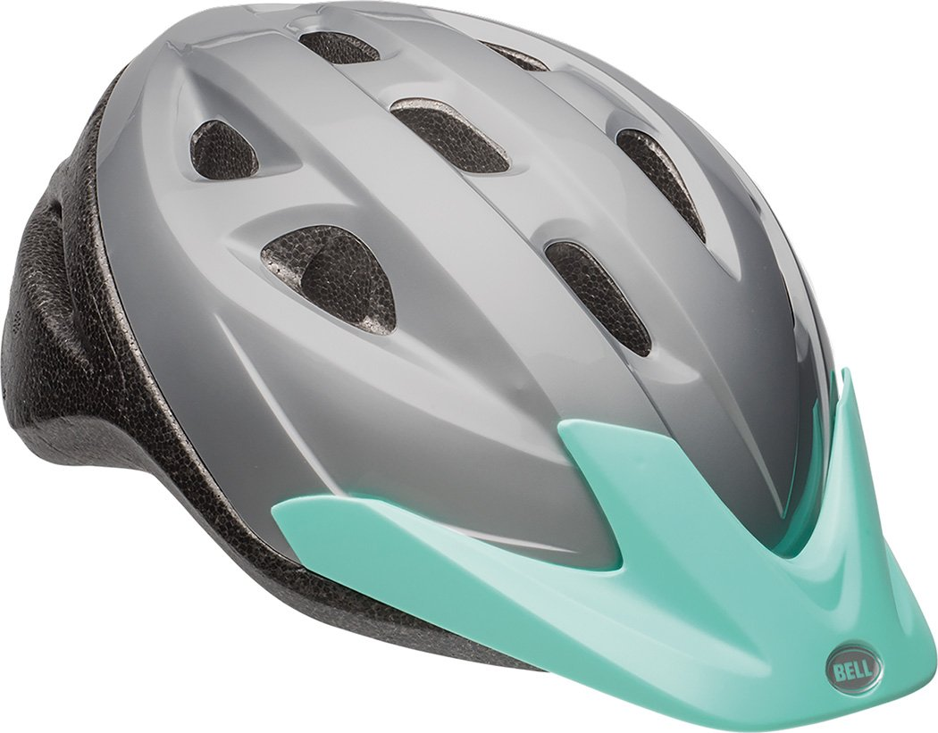 Bell Richter Youth Bike Helmet Solid Silver Low Cost
