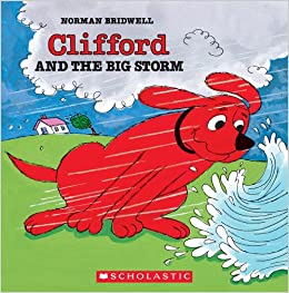 clifford and the big storm clifford 8x8 norman bridwell 9780590257558 amazoncom books