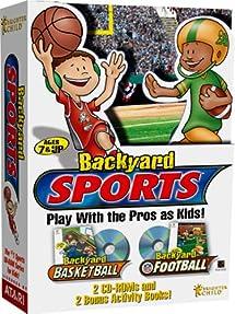 Charmant Backyard Sports   Backyard Basketball And Backyard Football   PC