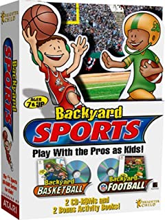 Backyard Sports   Backyard Basketball And Backyard Football   PC