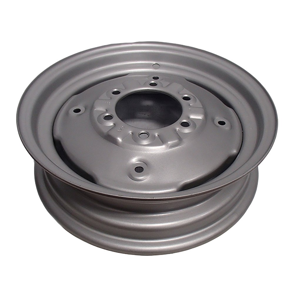 8N1015D 16' 6 Hole Front Wheel Rim For Ford 8N NAA Jubilee 600 800 Aftermarket Ford/New Holland NH