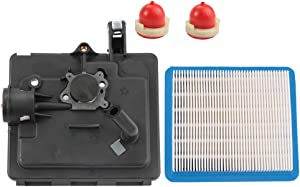 Butom 496116 795259 Air Cleaner Filter Primer Base for 122000 Model Engines Replaces 792040 691753 224815 with 491588S Air Filter 694395 Primer Bulb