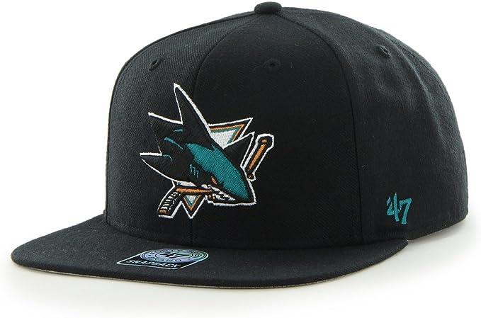 Gorra 47 Brand – Nhl San Jose Sharks Captain Snapback negro talla ...