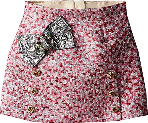 Dolce & Gabbana Kids Baby Girl's Pink Jacquard Skirt (Toddler/Little Kids) Jacquard Skirt by Dolce & Gabbana