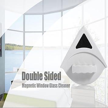 Hogar magnética de doble cara cepillo herramienta limpiador de cristal de ventana limpiaparabrisas superficie útil cepillo