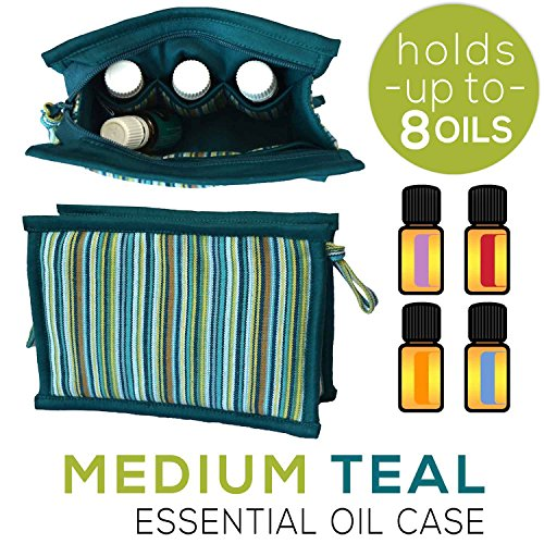 Medium Essential Oil Storage Case | Holds 6 - 8 Bottles | Tr