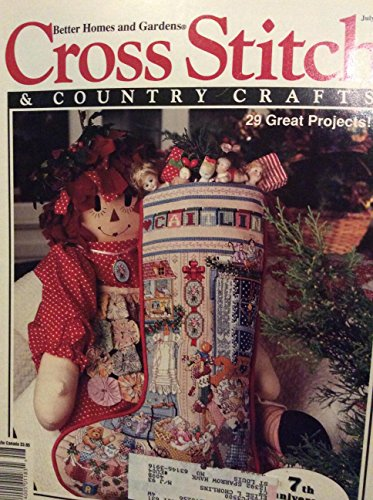 Cross Stitch & Country Crafts, July/Aug 1992 (Volume VII, Number 6) (Stitch Cross Country)