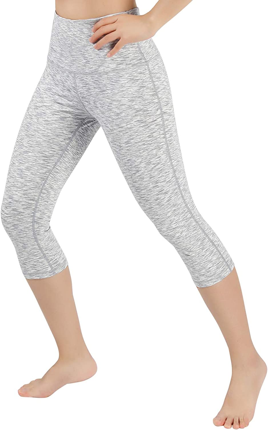 ODODOS Womens 19// 23 //27 High Waist Tummy Control Workout Yoga Running Compression Exercise Leggings with Inner Pockets