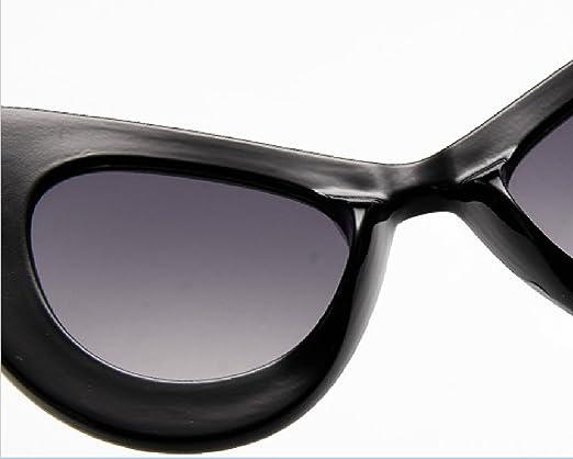 LQABW 2018 Neue Retro Katze Augen Mode Schmetterling Frame Trendy Spiel 100% UV400 Sonnenbrille,F