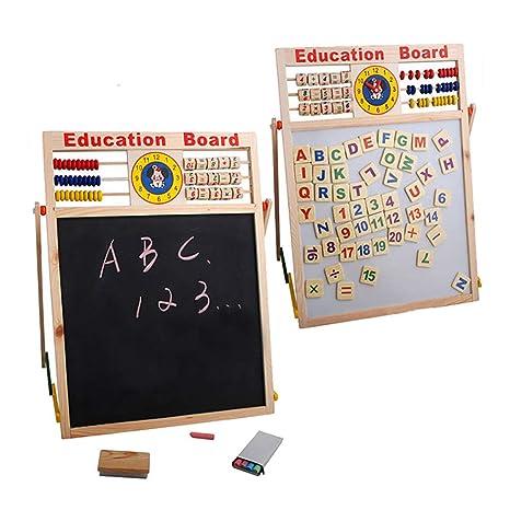 Amazon.com: Yinpinxinmao Abacus Wooden Letters Numbers ...