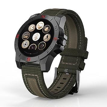 Reloj Digital con cronómetro para hombre verde Digital Inteligente Relojes Digital muñeca relojes impermeable Sleep vigilancia alarma reloj impermeable ...