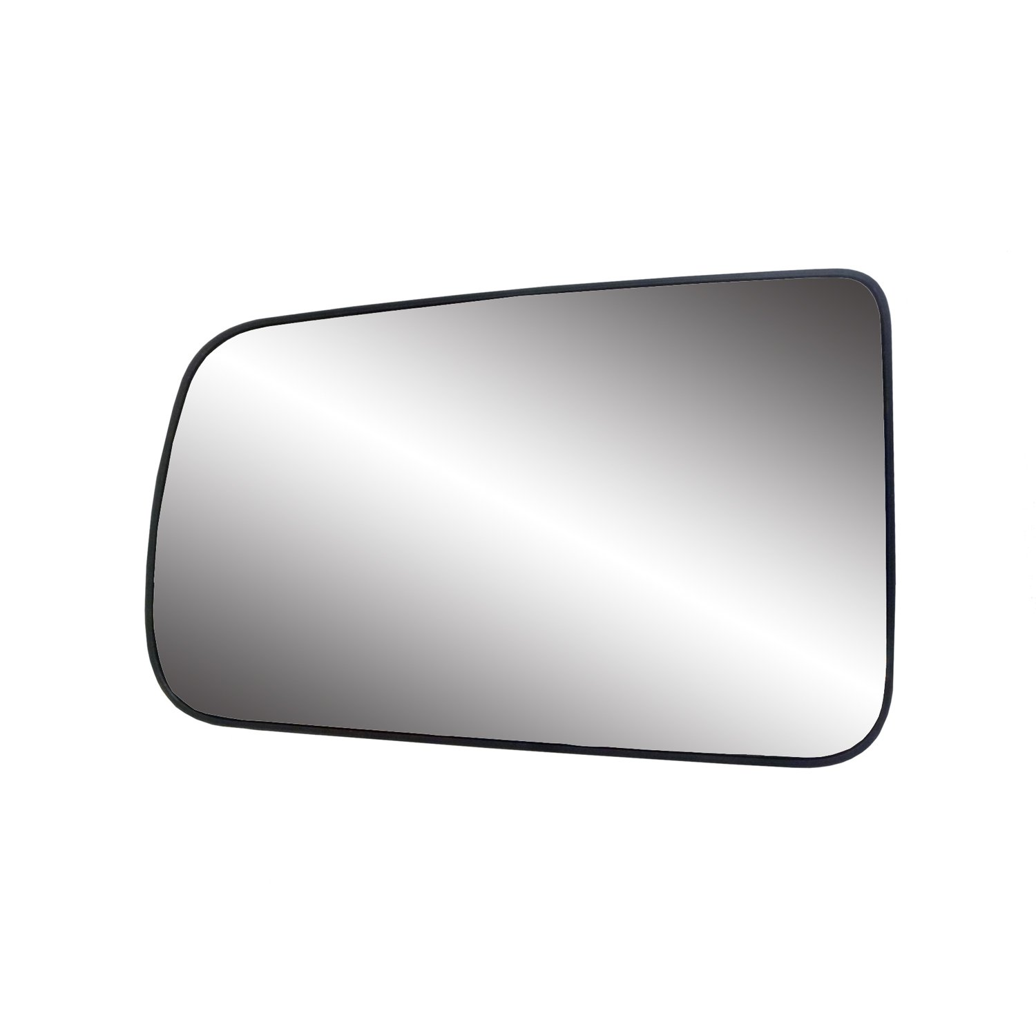Fit System 88261 Ford Focus Left Side Power Replacement Mirror Glass with Backing Plate
