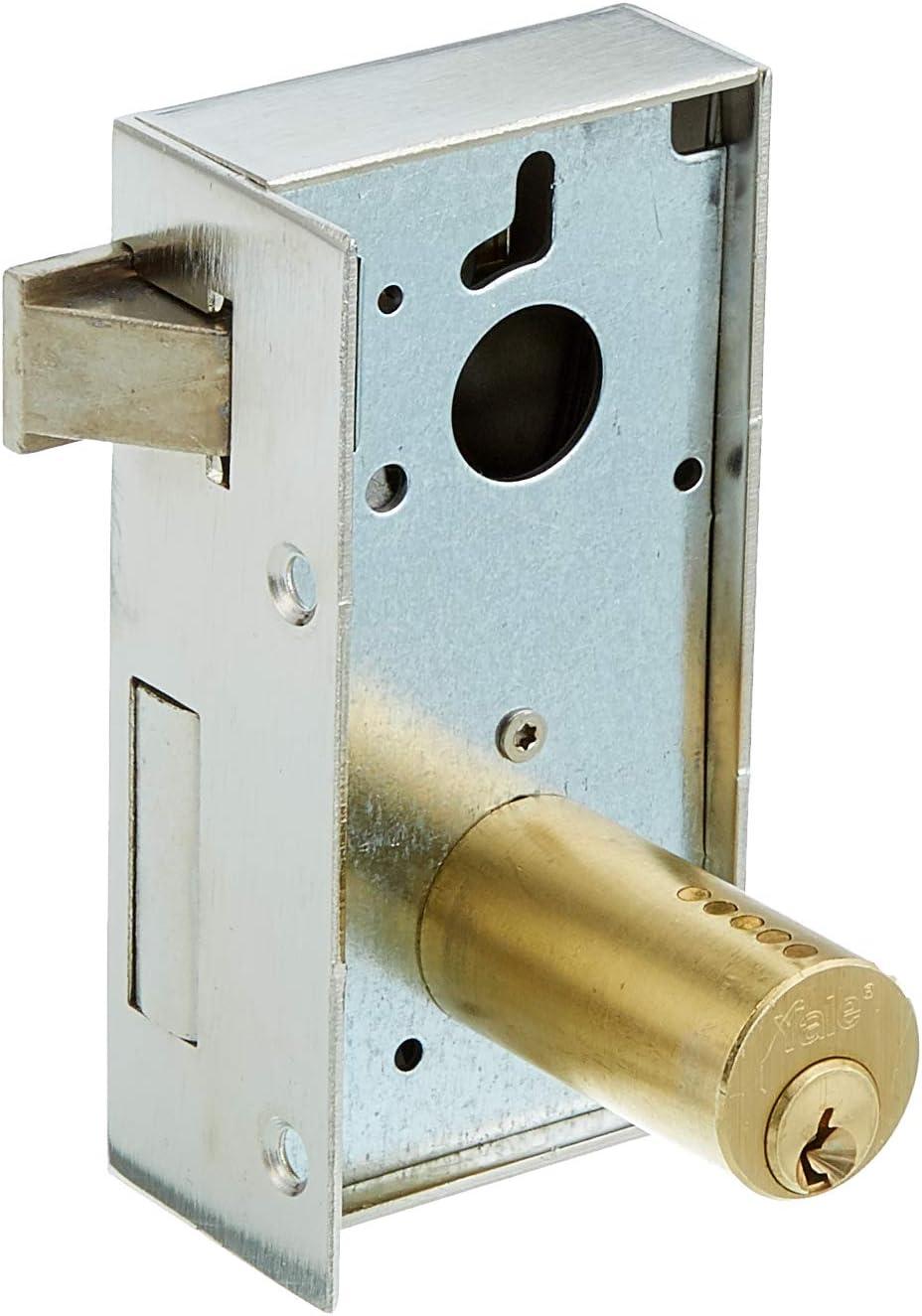 Hierro Pintado 12580DHP 80 mm Yale 125 // Derecha Cerradura de Sobreponer Est/ándar