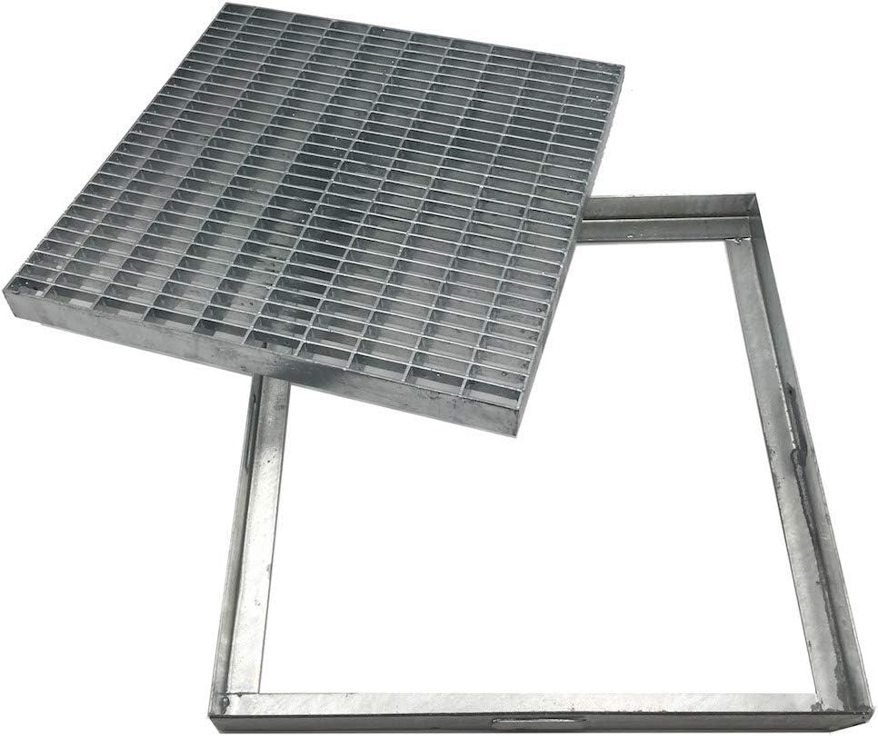 grille en acier galvanis/é carr/ée et rectangulaire toutes les dimensions. Grille galvanis/ée anti-talon