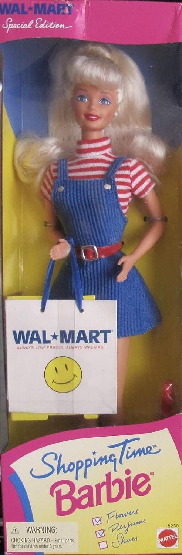 Amazon.es: Shopping Time Barbie Doll (Special Edition) Walmart-1997 by Mattel: Juguetes y juegos