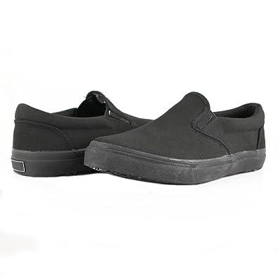 6c17eb1c8 Townforst Sandy Slip Resistant Black Sunbrella Water Resistant Non Slip  Waitress Shoes 6.5