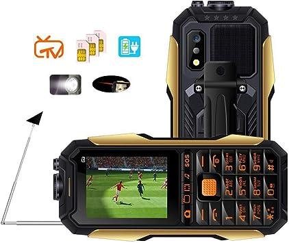 NSSZ Tres Anti-Militar Militar eléctrico Viejo teléfono móvil Vieja máquina al Aire Libre Gratis TV TV Carga Tesoro Larga Espera: Amazon.es: Electrónica