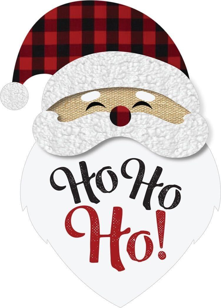"Briarwood Lane Santa Christmas Burlap Garden Flag Holiday 12.5"" x 18"""