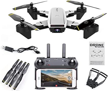 SG700 Quadcopter Drone WiFi 2MP Optical Flow Dual Wide Angle Camera 2 Battery