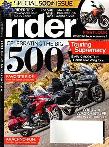 Rider Magazine May 2018 | Celebrating the Big 500