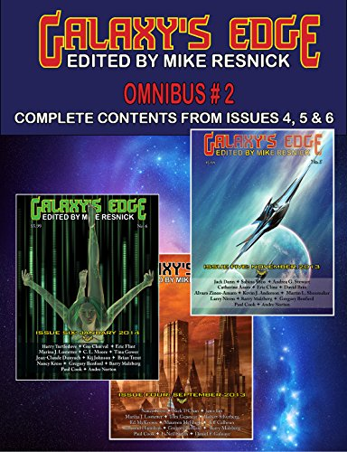 Galaxy's Edge Magazine - Omnibus Magazine 2: Complete Contents from Issues 4, 5, and 6. Edited by Mike Resnick. (Series: GE Omnibus)