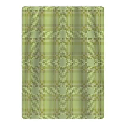 Green Cottage Plaid - Toalla de playa, diseño navideño
