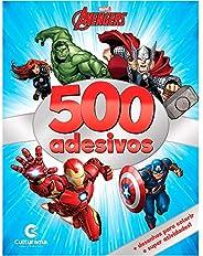 500 ADESIVOS MARVEL VINGADORES