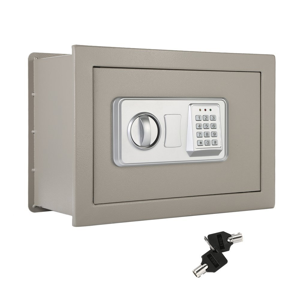Security Box Flat Recessed Wall Hidden in Wall Large Safe