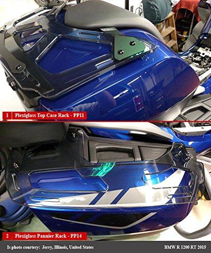 Isotta Porte-Bagages arri/ère pour K1600 GT//GTL 2010-2018 R1200RT 2011 Fume