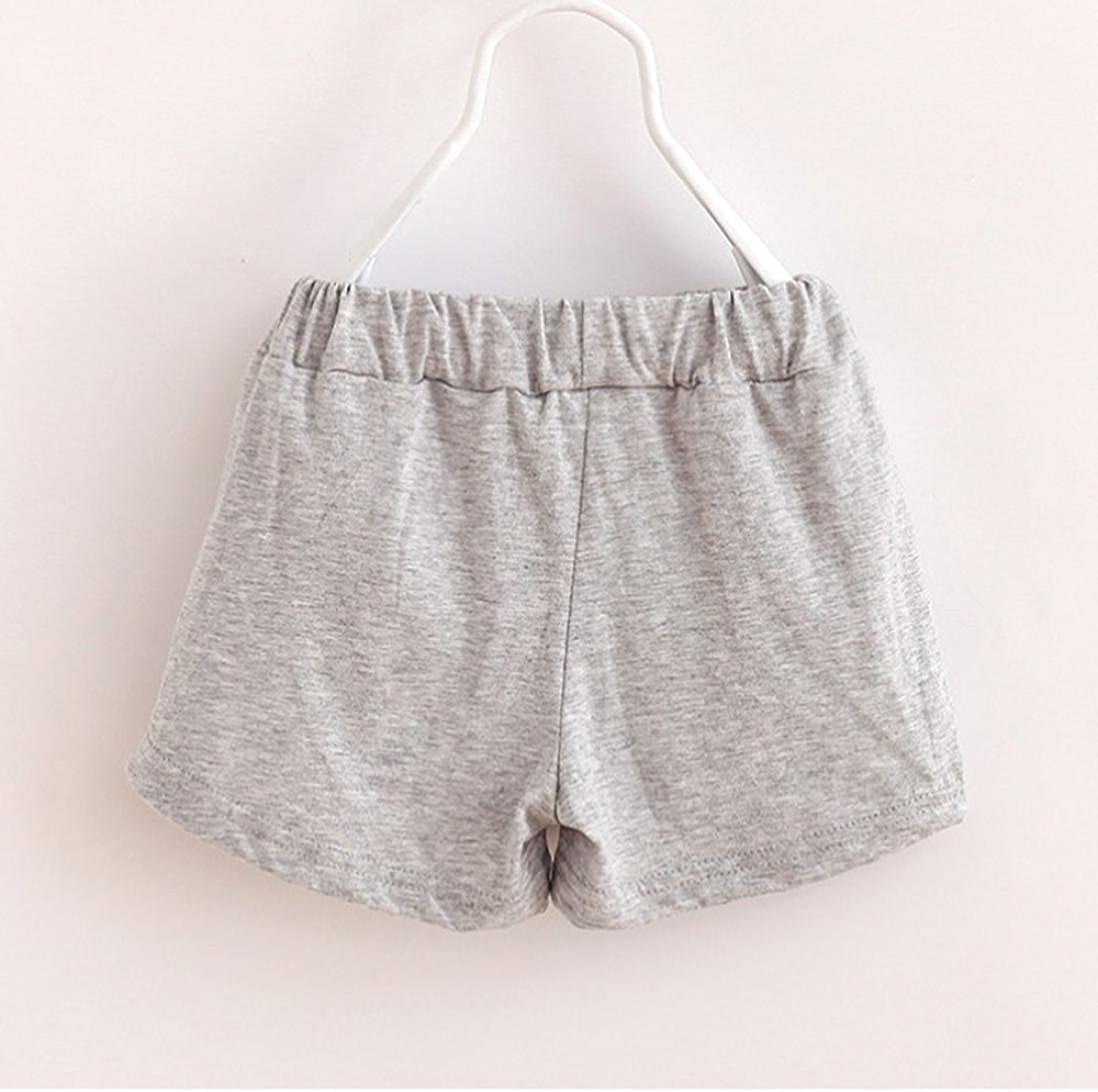 Amanod Summer Children Cotton Shorts Boys and Girl Clothes Baby Fashion Pants