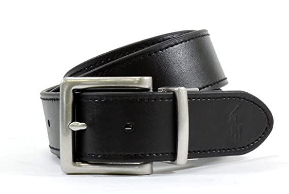56847c410b13 POLO Ralph Lauren Mens Reversible Leather Belt