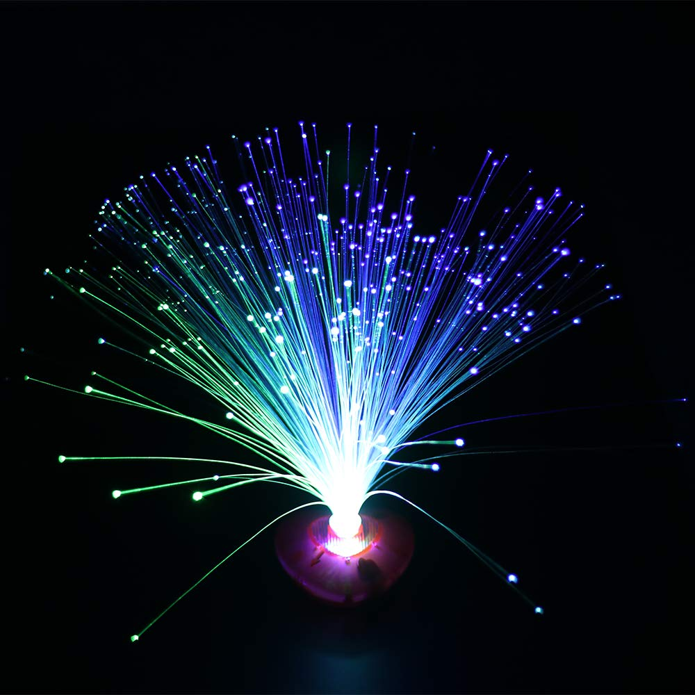 Prenine Luz de la Noche de la Fibra óptica Light, Luces ópticas de la Estrella de la Fibra Colorida
