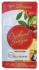 Orchard Breezin' Green Apple Delight Gewürztraminer Wine Kit by RJS