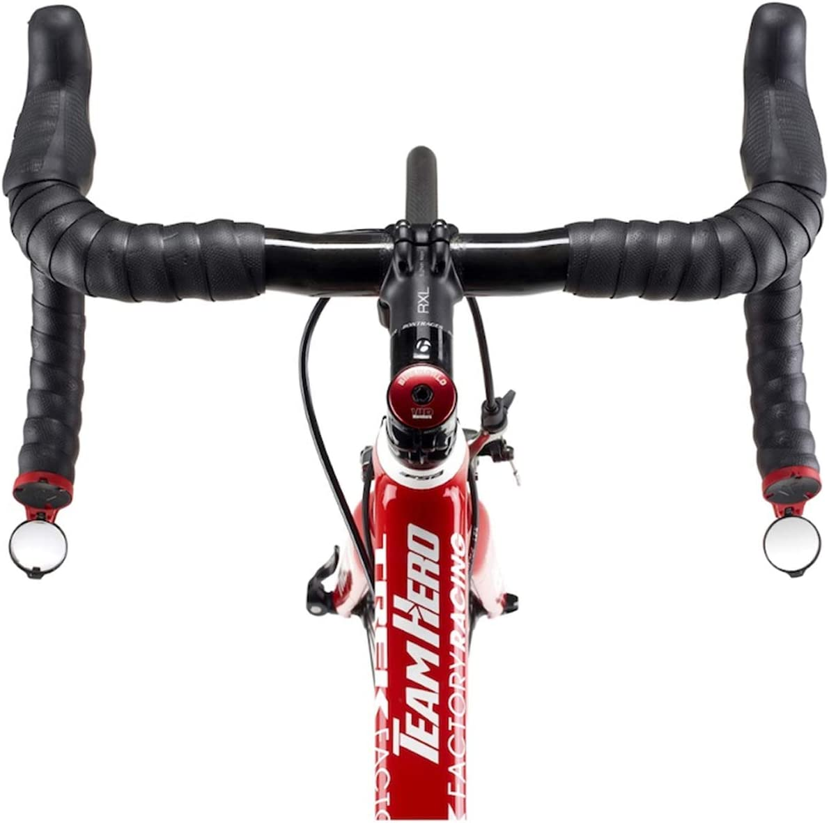 Drop Bar Bike Mirrors Rearview Mirror 360º Rotation For Handlebar End Foldable