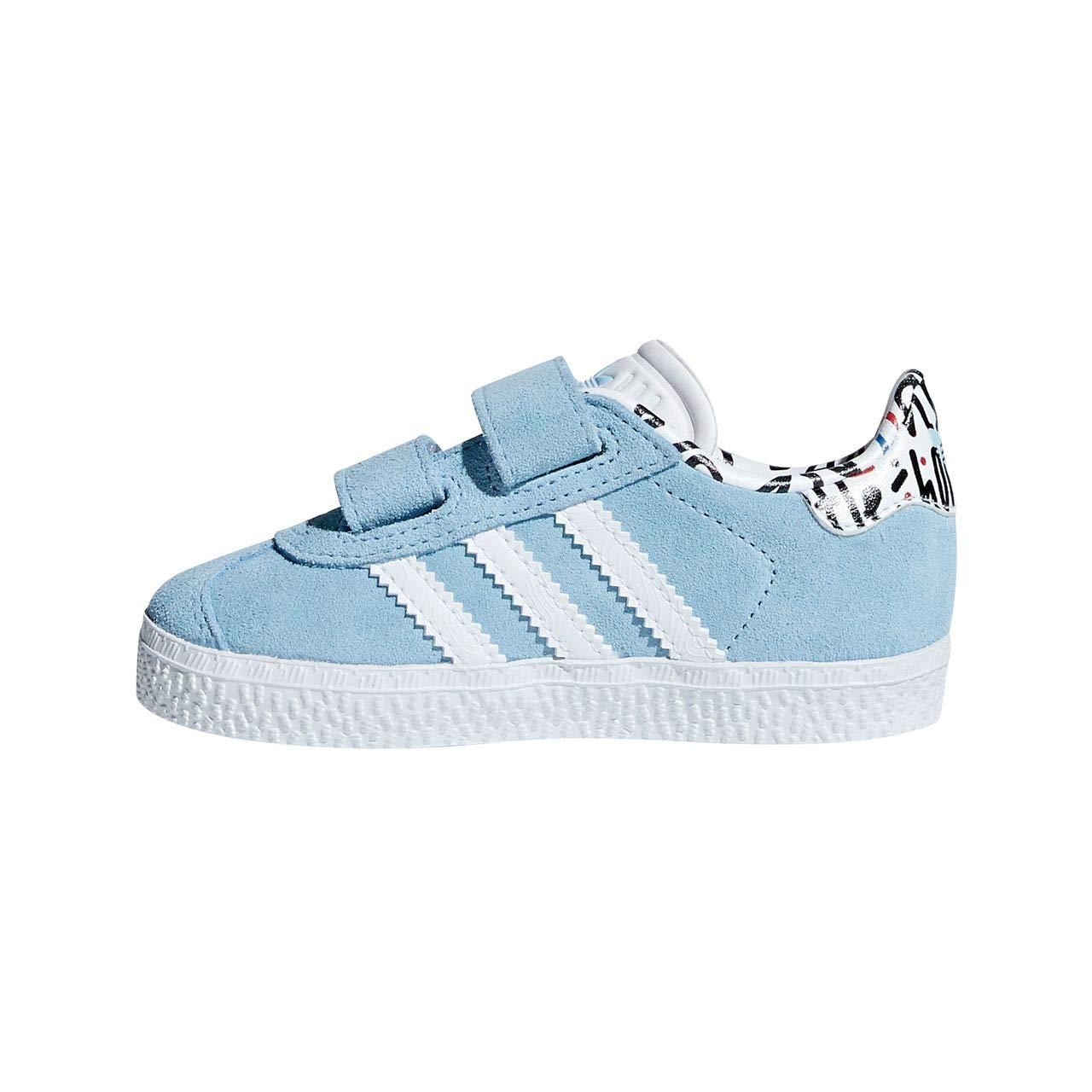 Adidas Gazelle CF I, Zapatillas de Estar por casa Unisex bebé Zapatillas de Estar por casa Unisex bebé B37216