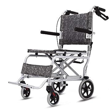 Silla de ruedas Rampas Plegables Ayudas para Caminar para Personas Mayores y Personas con Movilidad Reducida con reposabrazos sillas de Rue: Amazon.es: ...