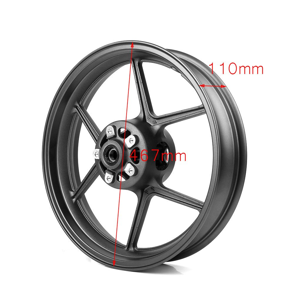 Amazon.com: GZYF Motorcycle Front Wheel Rim Replacement for ...