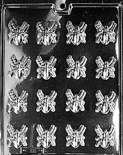 Grandmama's Goodies H061 B/S Spiders Chocolate Candy Soap Mold with Exclusive Molding Instructions