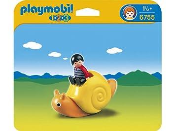 Playmobil - 6755 - Escargot A Bascule: Amazon.