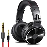 OneOdio Adapter-Free Closed Back Over Ear DJ Stereo Monitor Headphones, Professional Studio Monitor & Mixing, Telescopic…